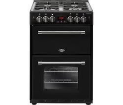 BELLING Farmhouse 60G 60 cm Gas Cooker - Black Best Price, Cheapest Prices
