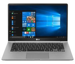 """LG GRAM 14Z990 14"""" Intel® Core™ i5 Laptop - 256 GB SSD, Silver Best Price, Cheapest Prices"""