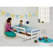 Argos Home Ellis White Toddler Bed Frame with Storage Best Price, Cheapest Prices