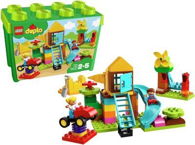 LEGO DUPLO My First Large Playground Brick Box Toy - 10864 Best Price, Cheapest Prices