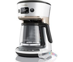 BREVILLE Mostra Easy Measure Filter Coffee Machine VCF115 - Silver Best Price, Cheapest Prices