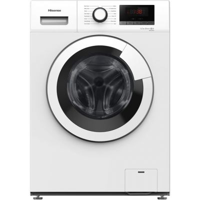 Hisense WFHV9014 9Kg Washing Machine with 1400 rpm - White - A+++ Rated Best Price, Cheapest Prices