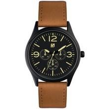 Spirit Men's Tan Strap Multi Dial Watch Best Price, Cheapest Prices