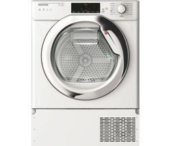 HOOVER HBTDW H7A1TCE-80 Smart Integrated 7 kg Heat Pump Tumble Dryer Best Price, Cheapest Prices