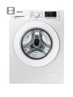 Samsung Ww80J5355Mw/Eu 8Kg Load, 1200 Spin Washing Machine With Ecobubble&Trade; Technology - White Best Price, Cheapest Prices