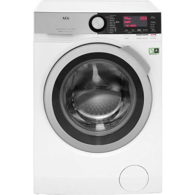 AEG OkoMix Technology L8FEC966R 9Kg Washing Machine with 1600 rpm - White - A+++ Rated Best Price, Cheapest Prices
