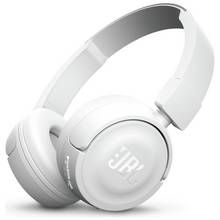 JBL T450 On-Ear Wireless Headphones - White Best Price, Cheapest Prices