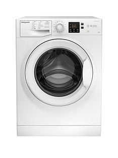 Hotpoint Nswm943Cw 9Kg Load, 1400 Spin Washing Machine - White Best Price, Cheapest Prices
