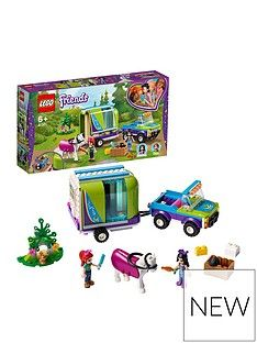 LEGO Friends 41371 Mia's Horse Trailer Stable Set  Best Price, Cheapest Prices