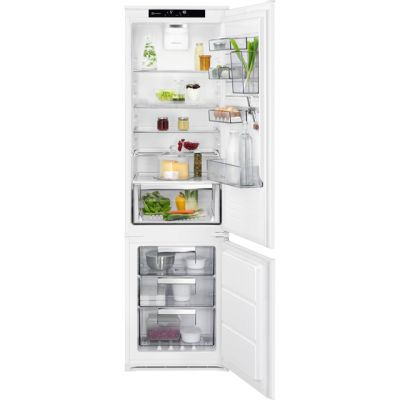 AEG SCE81928TS Integrated 70/30 Frost Free Fridge Freezer with Sliding Door Fixing Kit - White - A++ Rated Best Price, Cheapest Prices