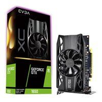 EVGA GeForce GTX 1650 XC GAMING 4GB GDDR5 Graphics Card, 896 Core, 1485MHz GPU, 1860MHz Boost Best Price, Cheapest Prices