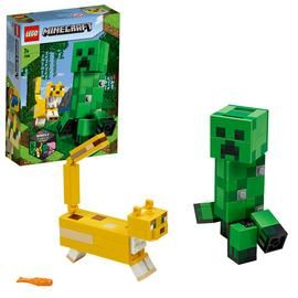 LEGO Minecraft BigFig Creeper and Ocelot Building Set 21156 Best Price, Cheapest Prices