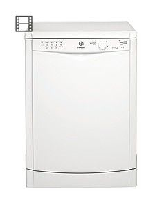 Indesit Ecotime DFG15B1 12-Place Full Size Dishwasher - White Best Price, Cheapest Prices