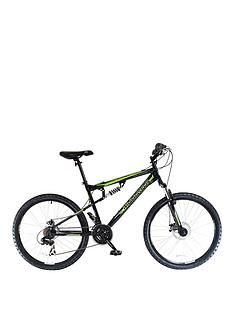 Muddyfox Livewire Dual Suspension Mens Mountain Bike 18 Inch Frame Best Price, Cheapest Prices