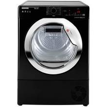 Hoover DXH9A2TCEB 9KG Heat Pump Tumble Dryer - Black Best Price, Cheapest Prices