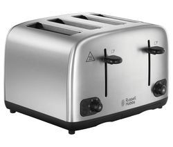 RUSSELL HOBBS 24094 4-Slice Toaster - Stainless Steel Best Price, Cheapest Prices