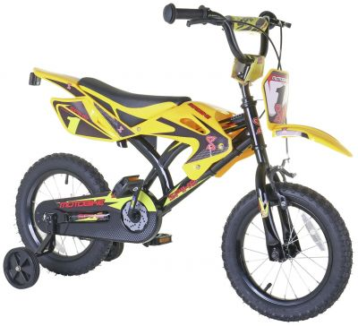 Spike 14 Inch Motorbike Style Kid's Bike Best Price, Cheapest Prices