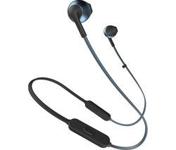 JBL TUNE 205BT T205BTBLU Wireless Bluetooth Earphones - Blue Best Price, Cheapest Prices