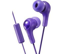 JVC HA-FX7M Gumy Plus Headphones – Violet Best Price, Cheapest Prices