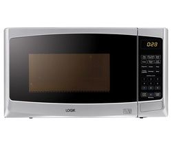 LOGIK L20GS14 Microwave with Grill - Silver Best Price, Cheapest Prices