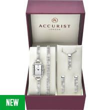 Accurist Ladies' Stone Set Watch and Jewellery Gift Set Best Price, Cheapest Prices