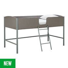 Argos Home Morgan Grey Mid Sleeper Bed Frame Best Price, Cheapest Prices