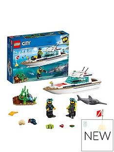 LEGO City 60221Diving Yacht Best Price, Cheapest Prices