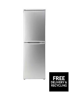 Candy CSC1745SE 55cm Fridge Freezer - Silver Best Price, Cheapest Prices