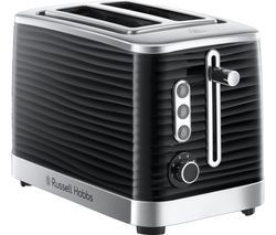 RUSSELL HOBBS Inspire 24370 2-Slice Toaster - Black Best Price, Cheapest Prices