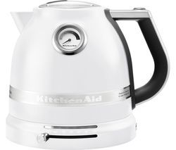 KITCHENAID Artisan 5KEK1522BFP Traditional Kettle - Frosted Pearl Best Price, Cheapest Prices