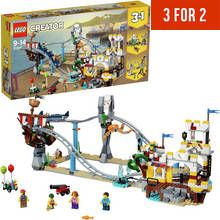 LEGO CREATOR Pirate Roller Coaster Building Toy Set - 31084 Best Price, Cheapest Prices