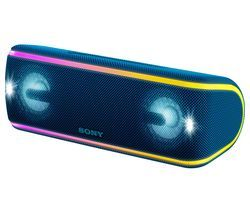 SONY SRS-XB41 Portable Bluetooth Speaker - Blue Best Price, Cheapest Prices