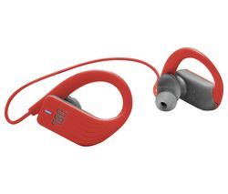 JBL Endurance Sprint ENDURSPRINTRED Wireless Bluetooth Sports Earphones - Red Best Price, Cheapest Prices