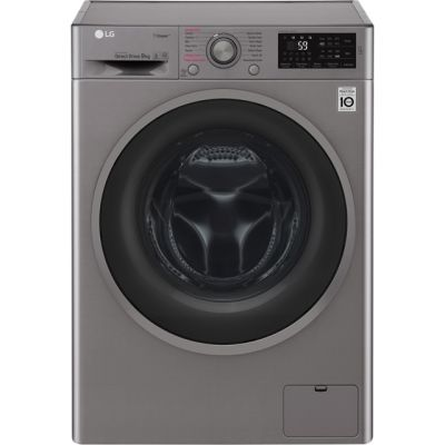 LG J6 F4J609SS 9Kg Washing Machine with 1400 rpm - Graphite - A+++ Rated Best Price, Cheapest Prices