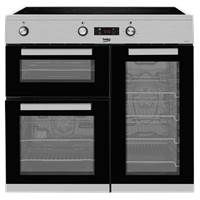 Beko KDVI90X 90cm Induction Range Cooker in Stainless Steel Best Price, Cheapest Prices