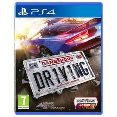 Dangerous Driving PS4 Game Best Price, Cheapest Prices