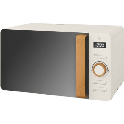 Swan Nordic SM22036WHTN 20 Litre Microwave - White Best Price, Cheapest Prices