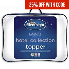 Silentnight Luxury Hotel Collection Mattress Topper - Double Best Price, Cheapest Prices