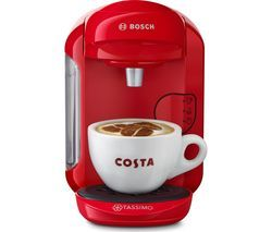 TASSIMO by Bosch Vivy2 TAS1403GB Hot Drinks Machine - Red Best Price, Cheapest Prices