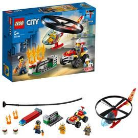 LEGO City Fire Helicopter Response Building Set - 60248 Best Price, Cheapest Prices