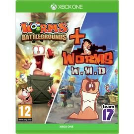 Worms: Battleground & Worms W.M.D Xbox One Game Double Pack Best Price, Cheapest Prices