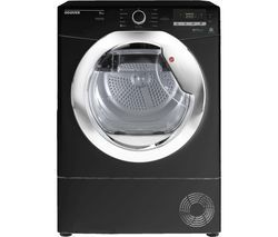 HOOVER Dynamic Next DX C10DCEB NFC 10 kg Condenser Tumble Dryer - Black Best Price, Cheapest Prices