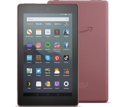 AMAZON Fire 7 Tablet with Alexa (2019) - 32 GB, Plum Best Price, Cheapest Prices