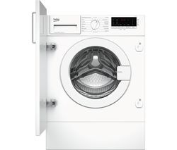 BEKO WIY74545 Integrated 7 kg 1400 Spin Washing Machine Best Price, Cheapest Prices