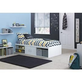 Argos Home Freddie White Cabin Bed Frame Best Price, Cheapest Prices