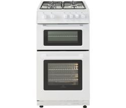 NEW WORLD 50GTC 50 cm Gas Cooker - White Best Price, Cheapest Prices