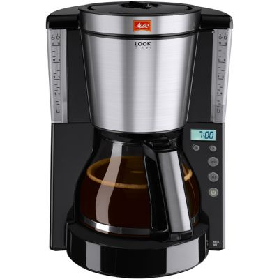 Melitta Look IV Timer 6708047 Filter Coffee Machine with Timer - Black Best Price, Cheapest Prices