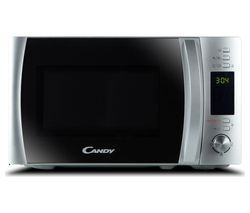 CANDY CMXW20DS-UK Compact Solo Microwave - Silver Best Price, Cheapest Prices