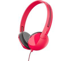 SKULLCANDY STIM Headphones - Red Best Price, Cheapest Prices