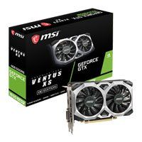 MSI GeForce GTX 1650 SUPER VENTUS XS OC 4GB GDDR6 VR Ready Graphics Card, 1280 Core, 1530MHz GPU, 1740MHz Boost Best Price, Cheapest Prices